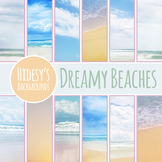 Dreamy Beaches Digital Papers / Backgrounds / Photos for Commercial Use