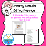 Dreamy Donuts Editing Passage