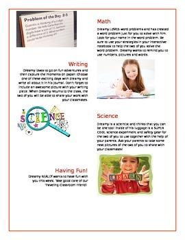 Classroom Project: Traveling Classroom Pets