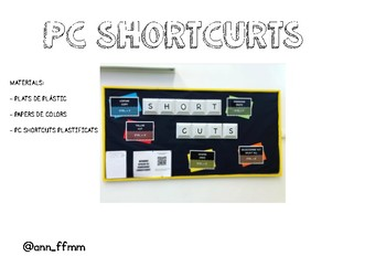 Dreceres teclat - PC shortcuts in Catalan