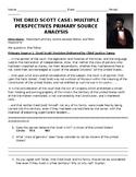 Dred Scott Decision Primary Source Analysis