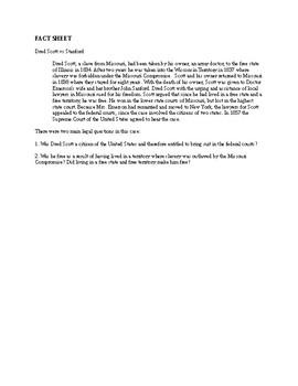 Dred Scott Mock Trial