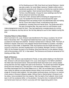 Dred Scott Reading & Project