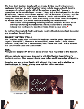 Dred Scott Vs Sandford: does Congress Have the Power to Limit Slavery