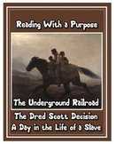 Dred Scott, the Underground Railroad, Life of a Slave (Com