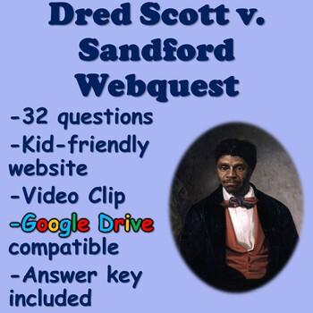 Dred Scott Decision Webquest
