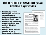 Dred Scott v. Sanford (1857) reading with questions - USH/APUSH