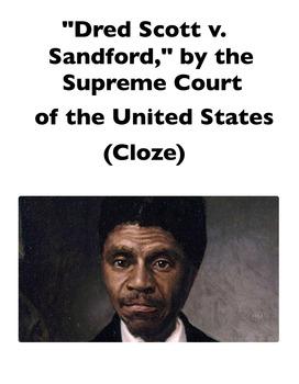 Dred Scott v. Sanford (Full-Text Cloze)