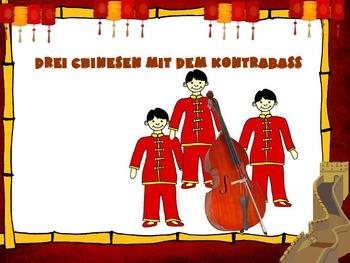 Drei Chinesen Mit Dem Kontrabas