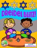 Dreidel Blitz Hanukkah Addition Game