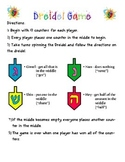 Dreidel Game Directions
