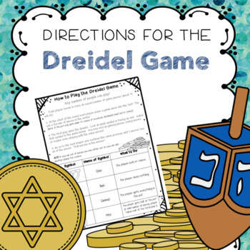 picture relating to Dreidel Game Rules Printable known as Dreidel Match Guidance Worksheets Instructors Spend Instructors