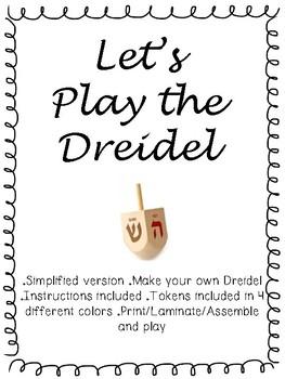 Dreidel Games Teaching Resources Teachers Pay Teachers