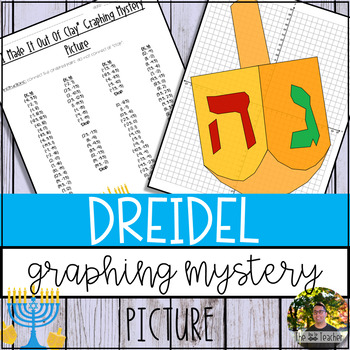 Dreidel Graphing Mystery Picture