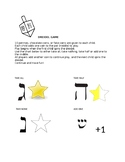 Dreidel Instructions with Visuals
