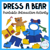 Spanish Clothing and Weather: Dress-A-Bear {Props}