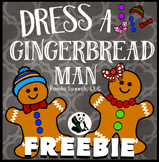 Dress A Gingerbread Man FREEBIE