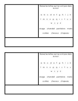 Dress Bob - Vocabulary Practice