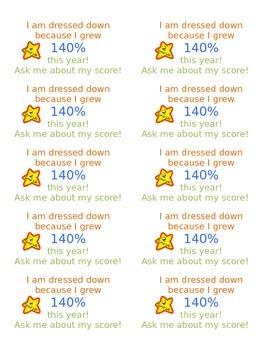 Dress Down Pass (Editable)