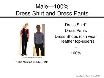 Dress For Success Guidelines