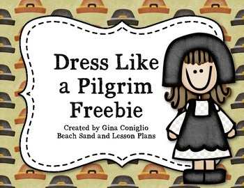 Dress Like A Pilgrim
