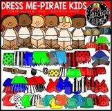 Dress Me – Pirates Clip Art Set {Educlips Clipart}
