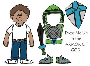 Dress Me Up In The Armor Of God Eph 6 Printable Cut