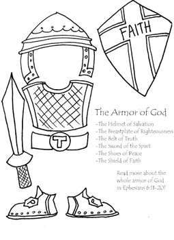 Gutsy image with free printable pictures of the armor of god
