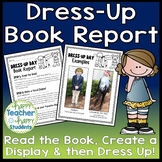 Character Dress-Up Book Report Template: Dress Up as a Favorite Book Character!