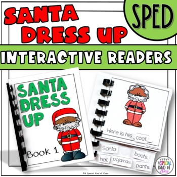 Dress Up Santa Interactive Easy Reader
