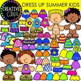 Dress Up Summer Kids {Summer Clipart}