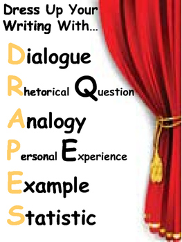 Dress Up Your Writing with DRAPES