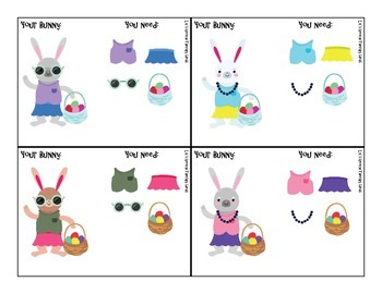 Dress a Bunny - Easy Game for Speech Therapy