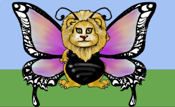 Dress a Lion: Butterfly *Reward