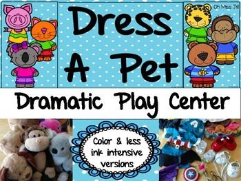 Dress a Pet Dramatic Play Center