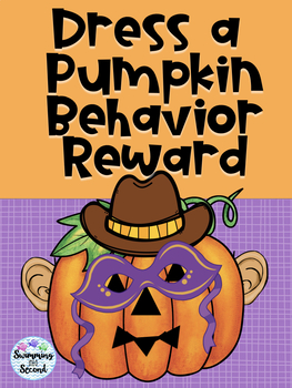 Dress a Pumpkin Behavior Reward