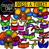 Dress a Turkey {Creative Clips Digital Clipart}