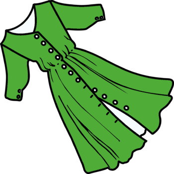 Dress clip art (FREE)