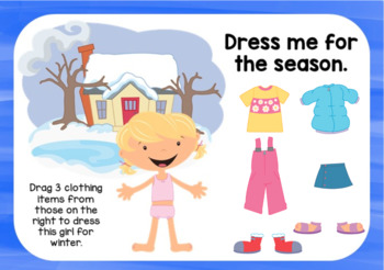Dress for the Seasons Digital Cards