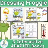 Dress for the Weather Interactive Books- Frogs Adapted Book Set
