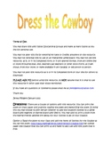 Dress the Cowboy Poem