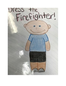 Dress the Firefighter Activity