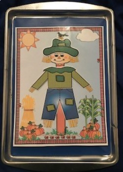 Dress the Scarecrow Clothes Matching Game
