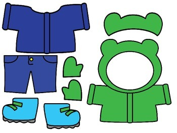 Dress the Weather Bear for Circle Time/Group Time