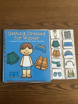 Dressing For Winter - An interactive book to help learn Winter Wardrobes!
