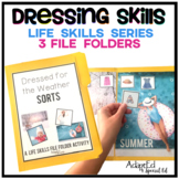 Dressing Skills: Life Skills File Folder Special Education