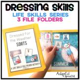 Dressing Skills: Life Skills File Folder Special Education