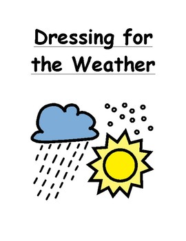 Dressing for the Weather Social Story