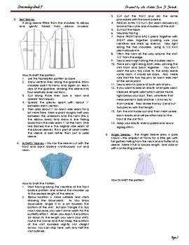 Dressmaking Module for Grade 9 students