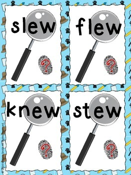 Drew & Sue: Long U Super Sleuths